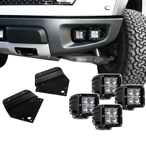 raptor rigid led  road fog light bracket
