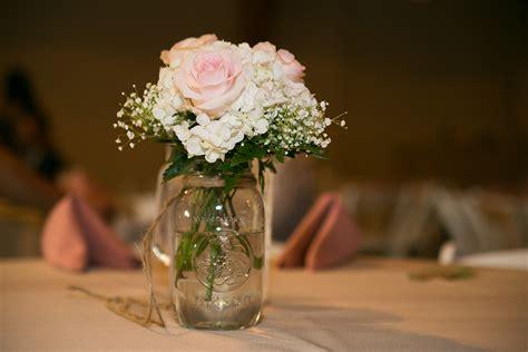 wedding reception centerpieces with jars rosenda justin s wade house wedding