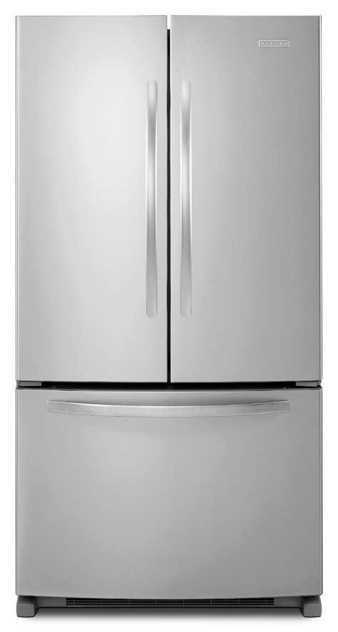 kitchenaid counter depth door refrigerator reviews kitchenaid kbfs20ecms 20 0 cu ft counter depth