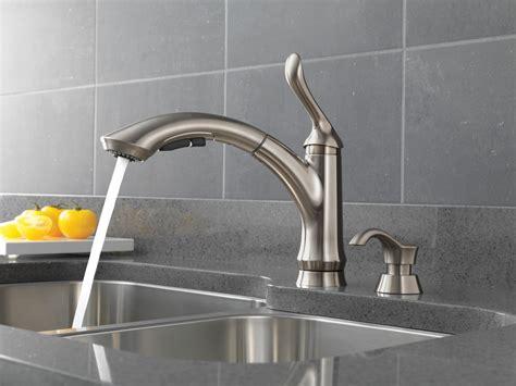 touch kitchen sink faucet delta touch sink faucet