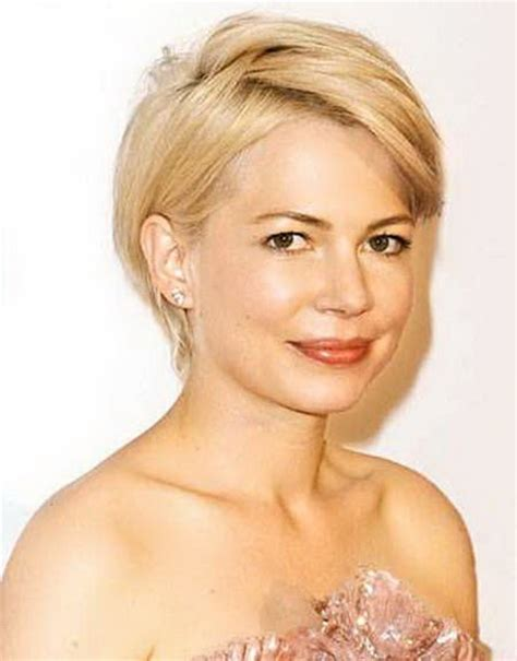 hairstyles for round faces short short haircuts for round faces 2014