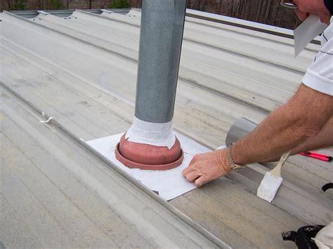 Metal Roof Repair Metal Roof Leak Repair Service White Elastomeric And