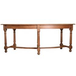 curved sofa table antique oak curved console table by waring and gillows at