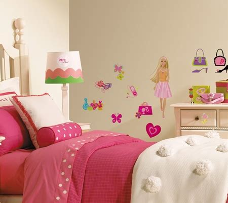 barbie bedroom decoration barbie bedroom wall stickers a trendy home
