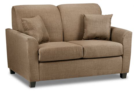 Ellis Upholstery by Ellis Loveseat Hazelnut Furniture Ca