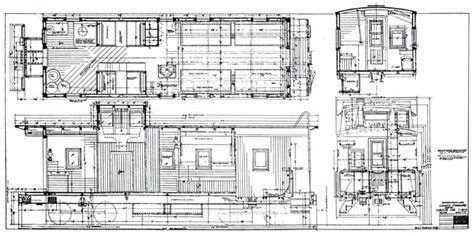 caboose floor plans train caboose interior blueprints pictures to pin on