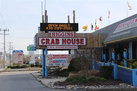higgins crab house ocean city contact higgins crab house all u can eat crabs ocean city md