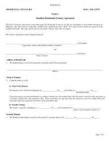landlords contract template best photos of landlord agreement template free