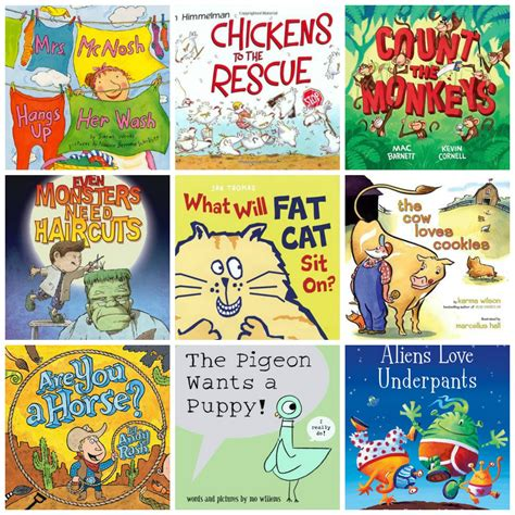 silly picture books read alouds for preschoolers