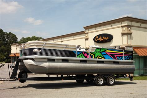 boat wraps pontoon graphic pontoon boat wrap car wrap city