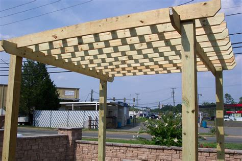 woodwork how to make a pergola pdf plans