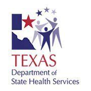 Department Of State Health Services Tx Department Of State Health Services