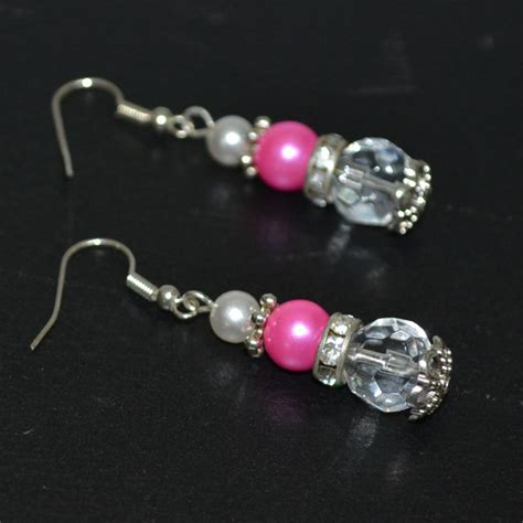 bead earrings how to make easy diy jewelry how to make beaded earrings with pearls