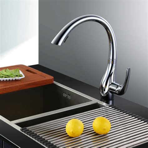 kitchen sink faucet with pull out spray bickford swan model kitchen sink faucet with pull out