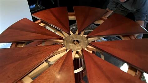 expanding table mechanism robert jupe inspired table expansion mechanism youtube