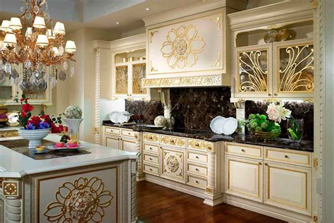 Modern Walnut Kitchen Cabinets by Luxury Kitchen Palace Furniture Palace Decor And