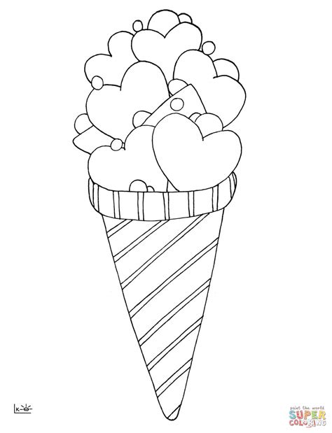 printable coloring pages ice cream love ice cream coloring page free printable coloring pages