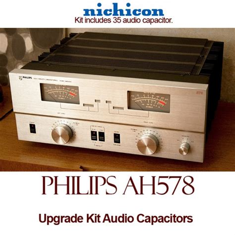 where are nichicon capacitors made philips ah578 upgrade kit audio capacitors