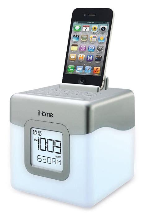 ihome cabinet radio ihome ihm28w2 color changing alarm clock fm