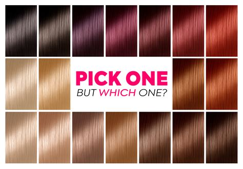 color chart for hair how to choose the best hair colour from hair colour charts