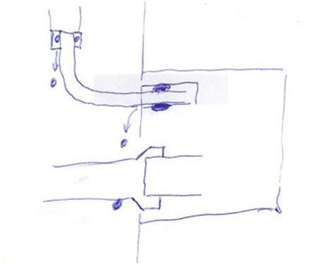 hangend toilet afvoer lekt lekkage langs hangtoilet