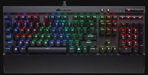 Corsair K70 Rapidfire corsair intros new cherry mx speed switch with k70 k65 rapidfire rgb keyboards gamersnexus
