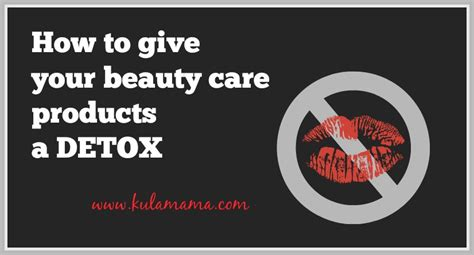 Ad Care What Do You Bring To Detox by How To Give Your Care Products A Detox