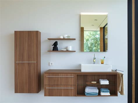 Wood Bathroom Furniture Wooden Bathroom Furniture Set X Large Collection By Duravit Italia Design Sieger Design