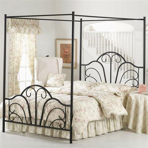 black metal canopy bed frame black canopy metal bed frame king sizes