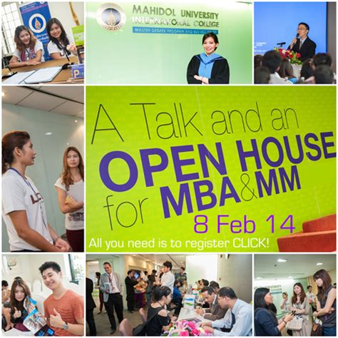 Mba Open House by Muic Open House Mba Mm 8 Feb 2014 Mba News Thailand