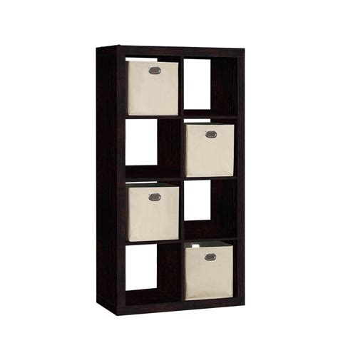 15 Inch Wide Bookcase 8 Cube Storage Best Storage Design 2017