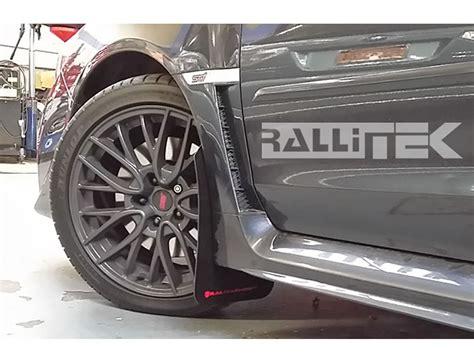 subaru mud rally armor ur mud flaps wrx sti 2015 2018 rallitek com