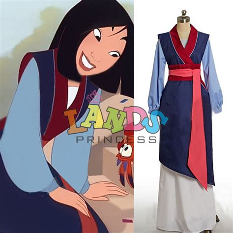 Mulan Dress custom made hua mulan dress blue dress princess dress