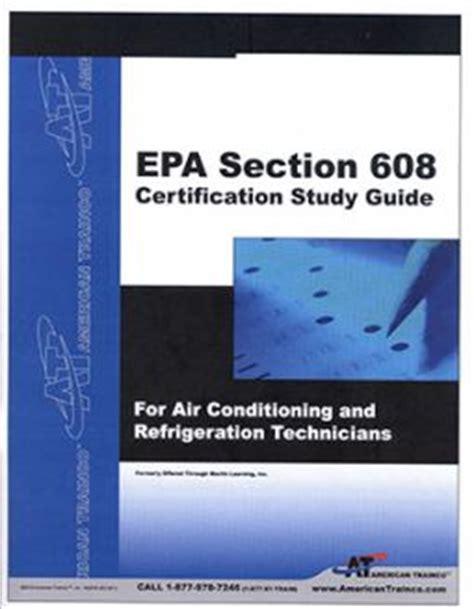 epa section 608 test answers study guides passbooks builder s book inc bookstore