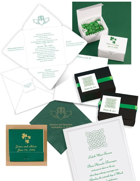 wiccan wedding invitation wording celtic wedding invitations and wedding favors that celebrate your heritage