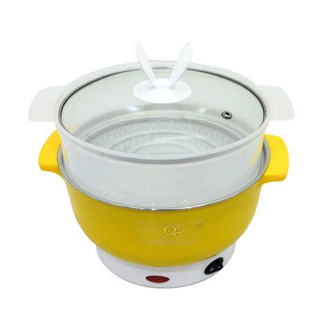 Panci Multifungsi panci elektrik heating bow panci pot serbaguna dengan