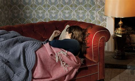 sleeping on a couch how to improve your sleep life and style the guardian