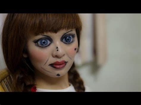 annabelle doll dress up annabelle makeup 2014 trick or treat for the