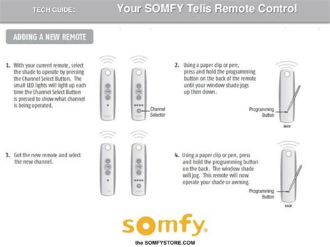 how to program led lights how to program a somfy telis remote control 2009