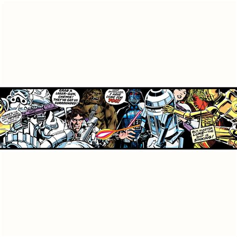 star wars bedroom wallpaper star wars wallpaper and borders childrens bedroom decor official merchandise ebay
