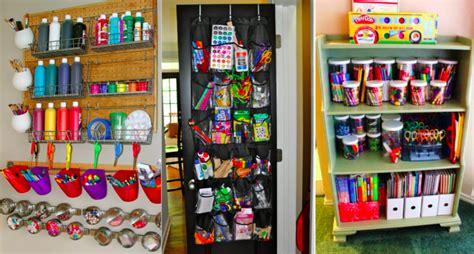 Faire Du Bricolage by 15 Id 233 Es Pour Ranger Le Mat 233 Riel De Bricolage De Vos Enfants
