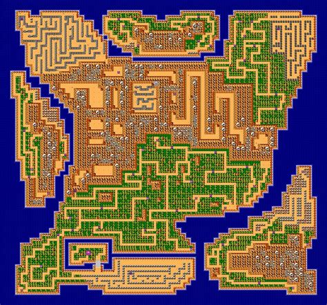 legend of zelda rom map zelda 2 the adventure of link rom download trinityneon