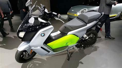 Bmw C 2019 by 2018 2019 Bmw C Evolution High Performance Electric