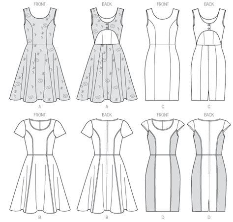 pattern drafting princess line dress m6887 misses dresses dresses mccall s patterns