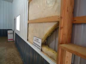 insulating pole barn side walls car interior design