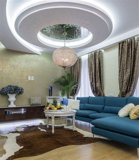 Circular Ceiling Design 60 Stunning Modern Living Room Ideas Photos Designing Idea