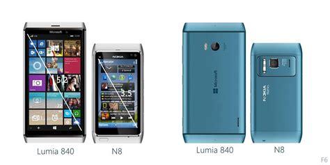 nokia lumia new phones 2015 microsoft lumia 840 combines the design of the nokia n8