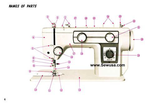 new home model 543 sewing machine manual