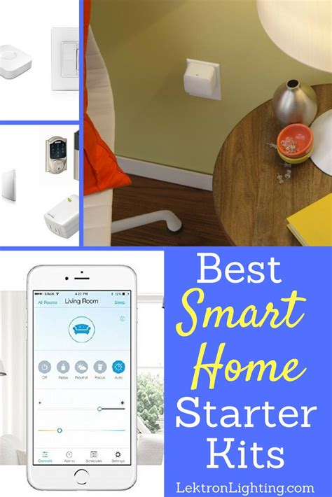 smart home starter kits to consider lektron lighting