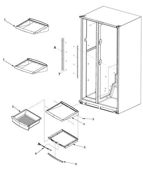 maytag refrigerator parts diagram refrigerator parts maytag refrigerator parts diagram